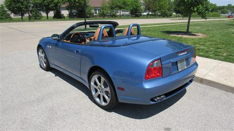 maserati cambiocorsa spyder 2004 maserati cambiocorsa spyder 4 2 395 hp automatic