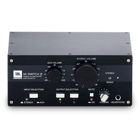 Stereo Active Speaker Dms 1200 jbl m patch 2 passive monitor volume controller at