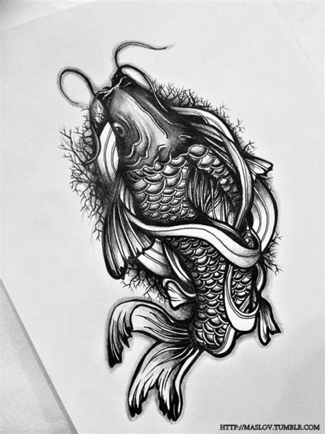 koi tattoo cliche 27 best tattoos of fish images on pinterest cool tattoos