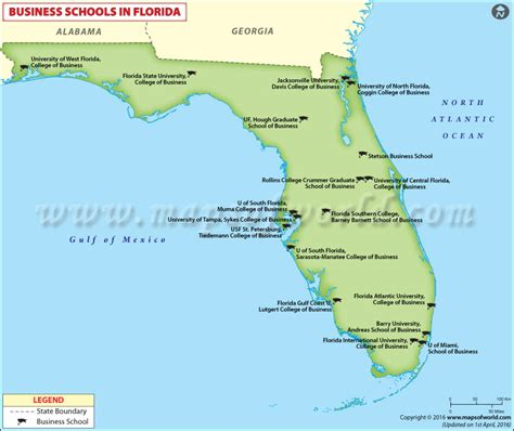Top Mba Programs By Location by Best Business Schools In Florida Usa
