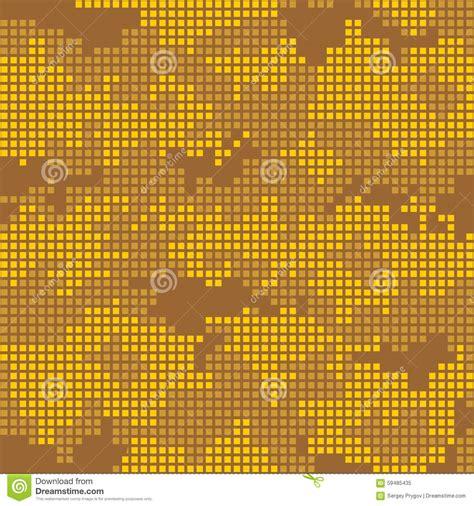urban pattern vector urban camo pattern yellow pixels stock vector image