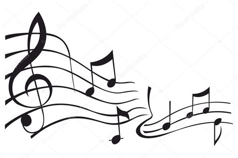 imagenes svg html calcoman 237 as de vectores de notas musicales archivo