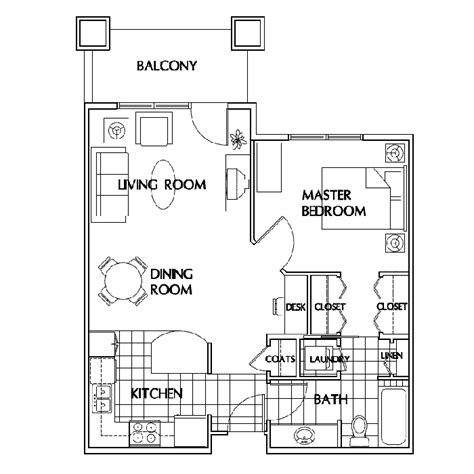1 Bedroom Garage Apartment Floor Plans Garage Apartment Plans 1 Bedroom