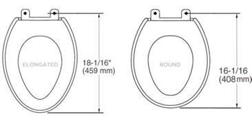 Bidet Sizes bidet seat sizes what size will fit my toilet modern day bidet