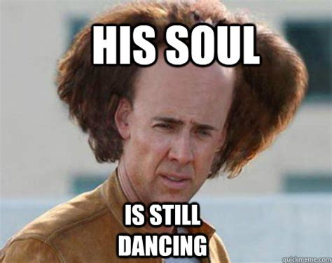 Crazy Hair Meme - nicolas cage my hair is a bird memes