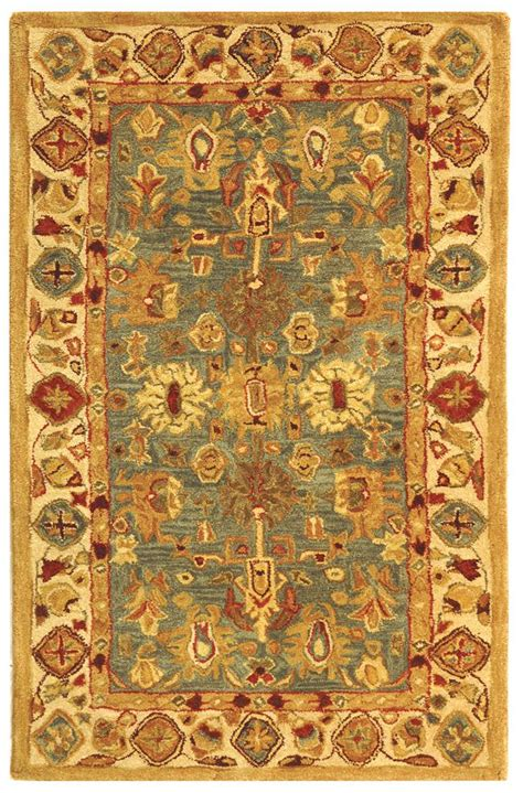 Safavieh Blue And Ivory Rug Safavieh Anatolia An547a Blue And Ivory Area Rug Free