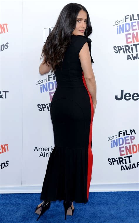 Independent Spirit Awards by Salma Hayek 2018 Independent Spirit Awards In Santa