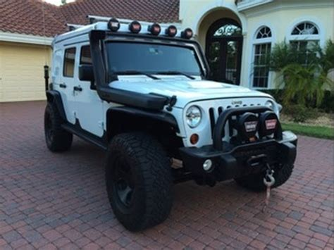 sold 2013 jeep wrangler unlimited rubicon extreme camper