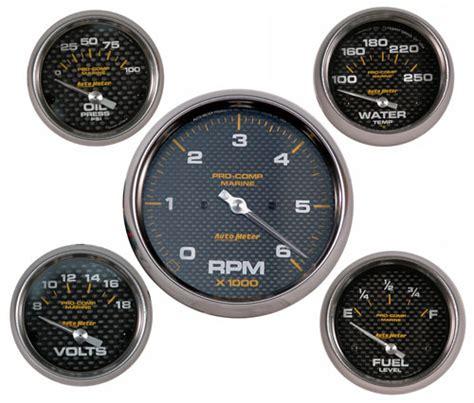 boat combo gauges vdo to autometer or hardin marine gauges offshoreonly