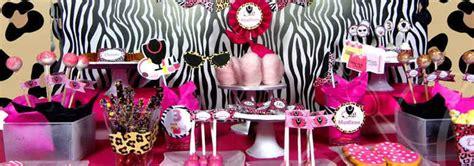 como decorar mi casa de animal print centros de mesa y decoraci 243 n animal print