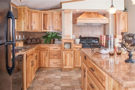 kitchens with hickory cabinets hickory kitchen cabinets eva furniture