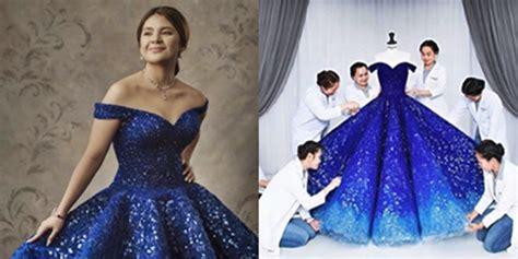 Simple Dress Rajut Bkk isabelle duterte s michael cinco debut gown details revealed