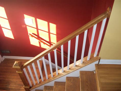 interior railings and banisters home remodeling and improvements tips and how to s oak