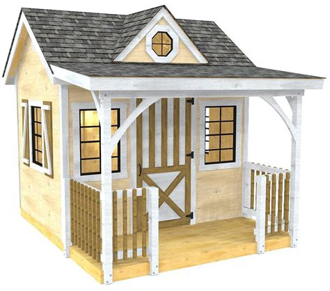 loretta  shed plan whimsical wendy style shed