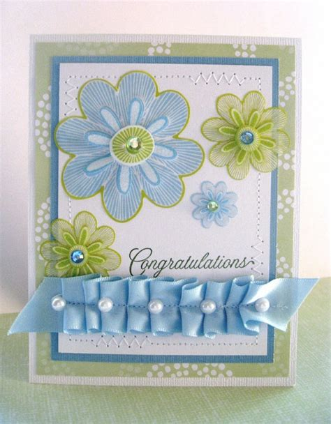 congratulations handmade card cards