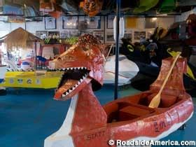 dragon boat geary cardboard boat museum race cardboard boats pinterest