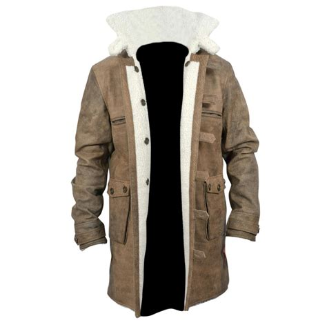 new bane coat distressed brown genuine cowhide leather