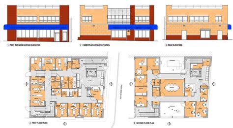 health center floor plan second health center to open community health center of