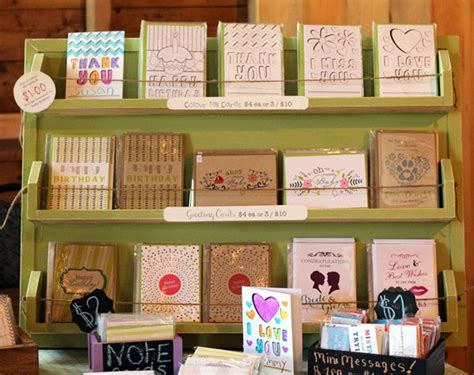 Card Display Ideas - products displays craft sale display ideas