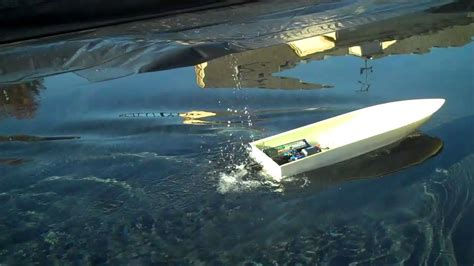 rc jet boat kmb jet drive with reverse test youtube - Rc Jet Boat With Reverse