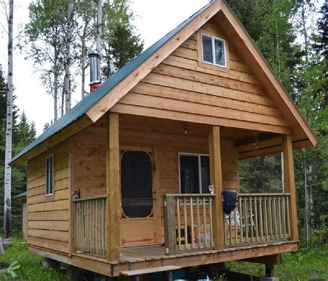building plans for small cabins diy tiny cabin with plans 171 country living