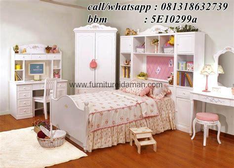 Set Kamar Bayi Tempat Tidur Bayi Ranjang Kayu Jati set tempat tidur anak minimalis putih ska 09 furniture idaman furniture idaman