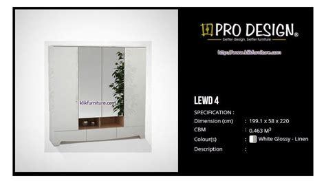 lewd  lemari minimalis putih legia pro design
