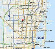 where is opa locka florida on map miami international airport