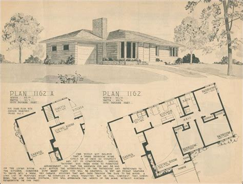1950s ranch house floor plans 106 best images about house plans on pinterest house