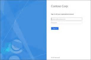 Office 365 Portal Default Page Adfs 3 0 Logon Page Customization