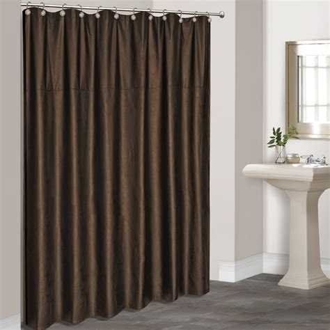 kohls curtains brown fabric shower curtain kohl s