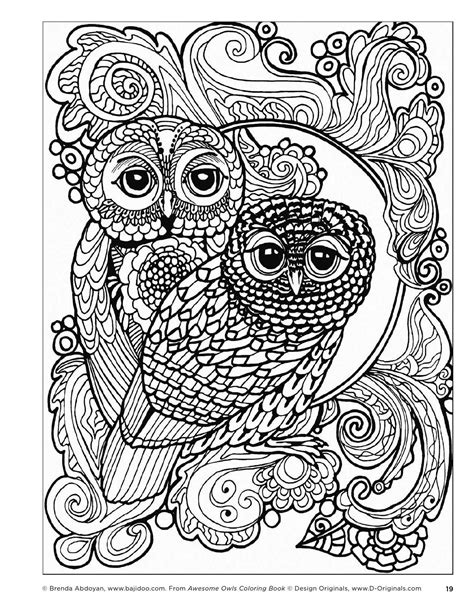 publish your own coloring book awesome owls coloring book by fox chapel publishing