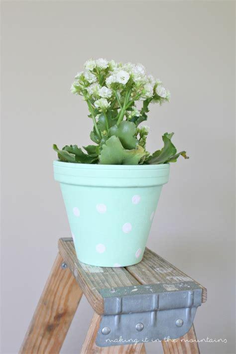 homemade flower pots summer celebration pretty little diy flower pots making