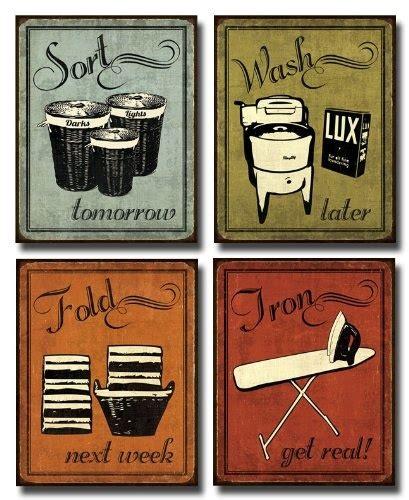 vintage laundry room signs vintage laundry sorting signs prints exchange redditgifts