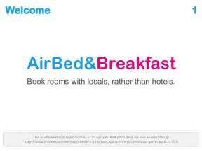 Airbnb Pitch Deck airbnb pitch deck