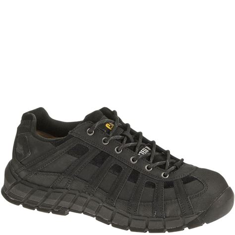Caterpillar Safety Sleting 90295 caterpillar s switch safety shoes black