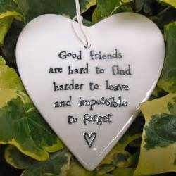 porcelain friendship heart good friends