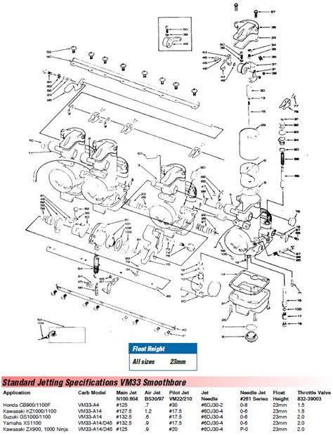 mikuni parts diagram wiring diagrams repair wiring scheme