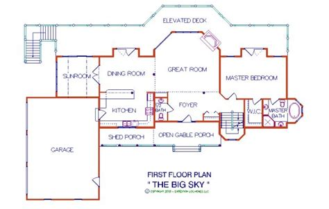 Homes With 2 Master Suites big sky 3 056 sq ft