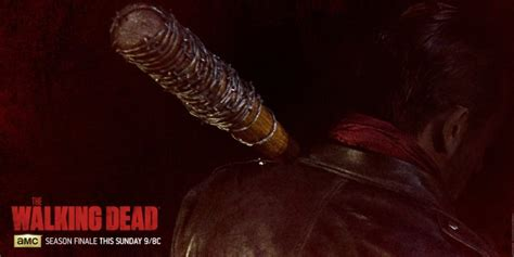 lucille images meet the walking dead s negan and lucille in new image