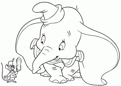 Dumbo Coloring Pages Coloring Home Dumbo Coloring Pages