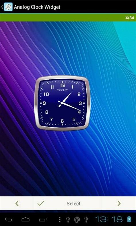 analog clock widgets for android analog clock widget android apps on play