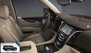Cadillac Interior Colors 2015 Cadillac Escalade Gets 7 Exterior Colors 3 Interior