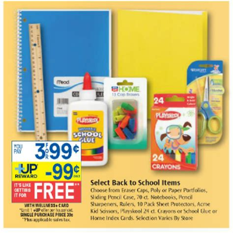 Rite Aid Gift Card Selection - free school supplies at rite aid