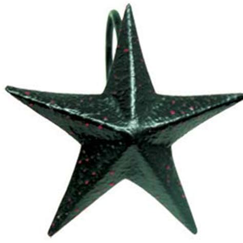 black star shower curtain hooks the country house online store