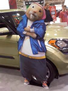 Kia Soul Hamster Costume Ajumma S Pad March 2012