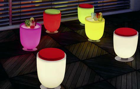 Lighted Patio Furniture by Modern Illuminated Patio Furniture Ideas Plushemisphere