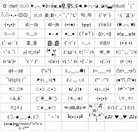 imagenes con simbolos face emoticones simbolos y textos especiales para facebook y