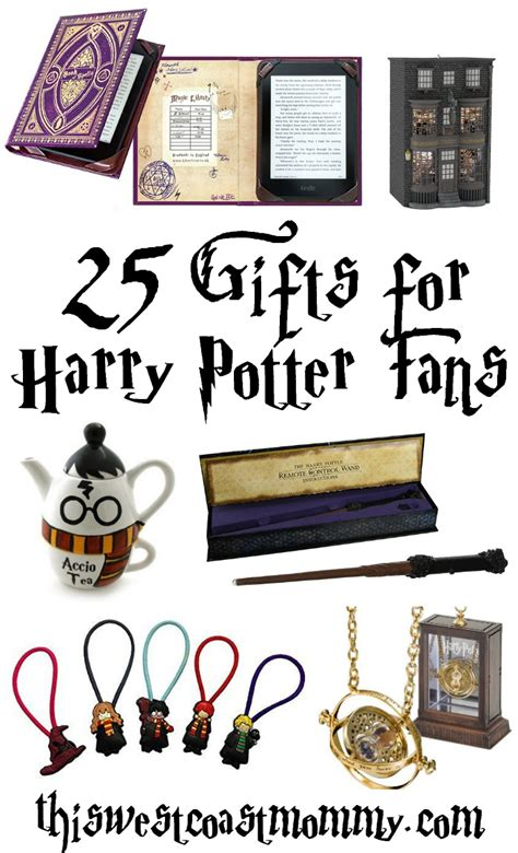 gifts to give a harry potter fan 25 gift ideas for harry potter fans this west coast mommy
