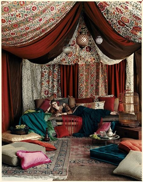 moroccan bohemian lounge on the hunt
